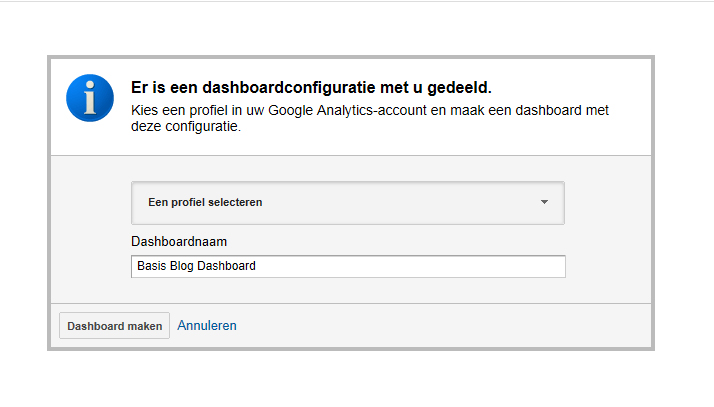 Google analytics dashboard download